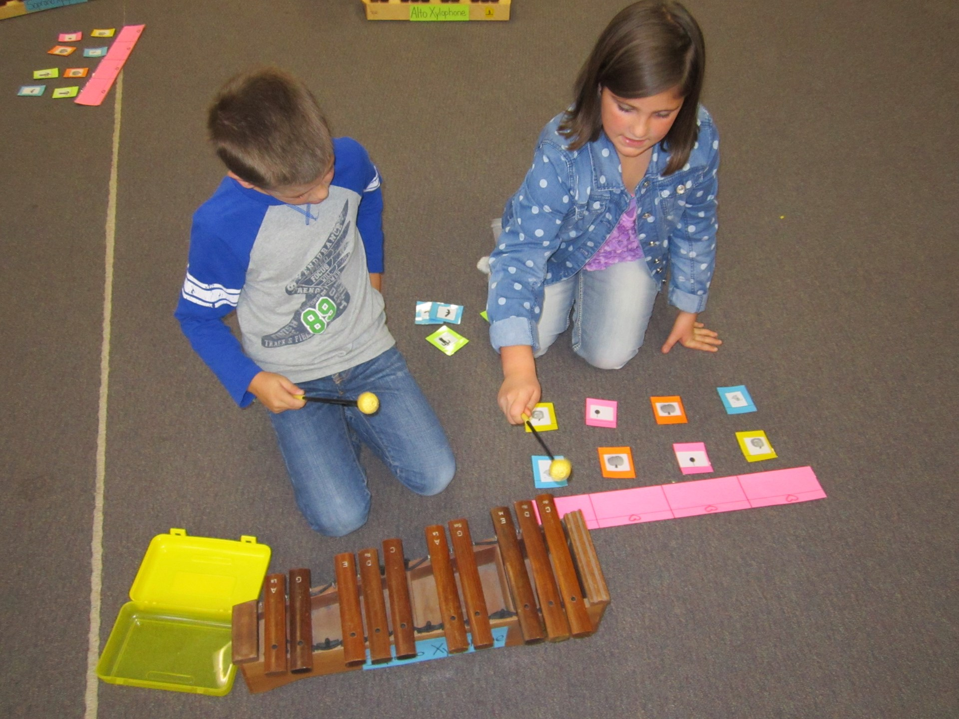 GES Music with Orff Instruments