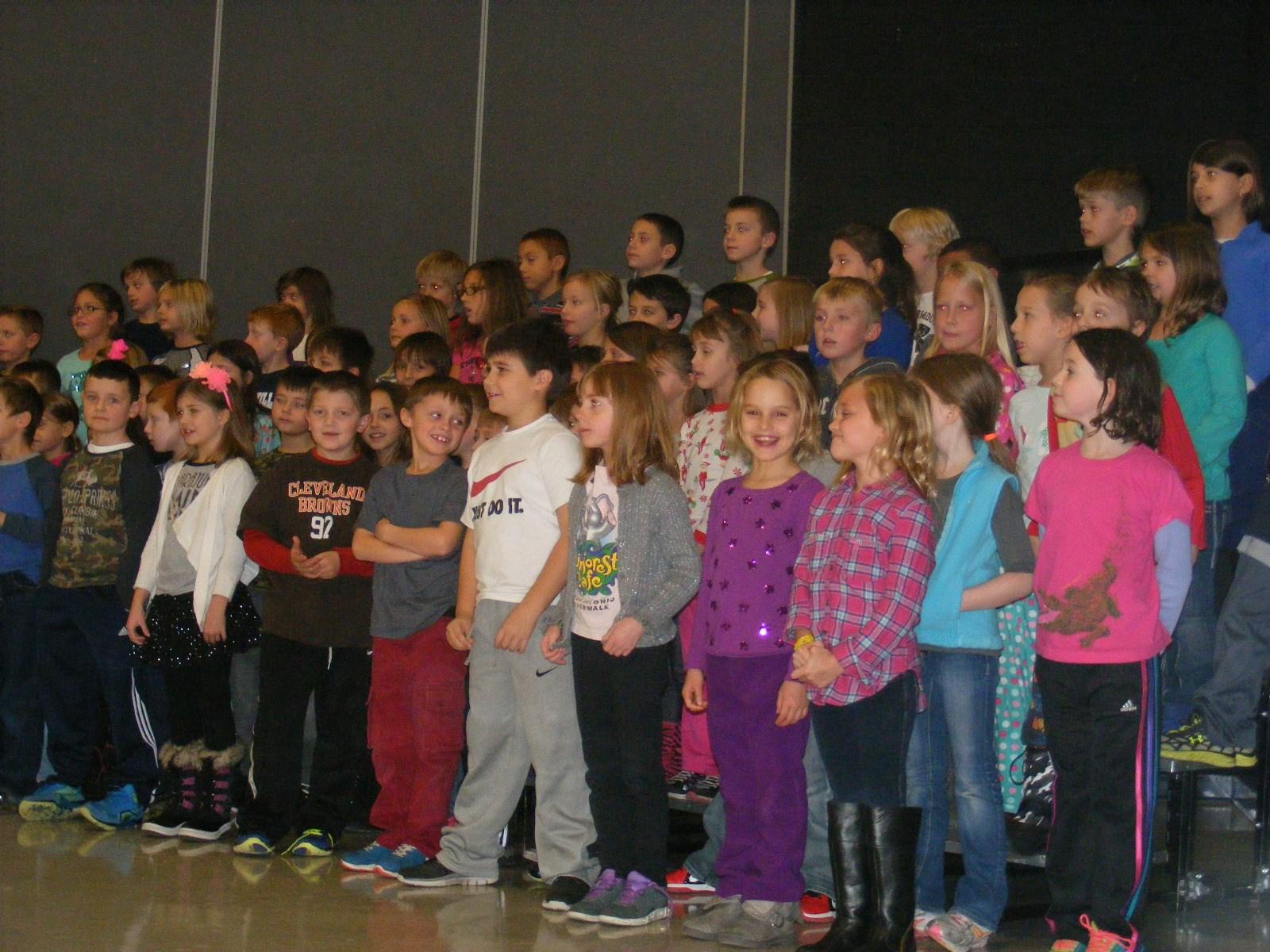 Second Grade Concert at GES