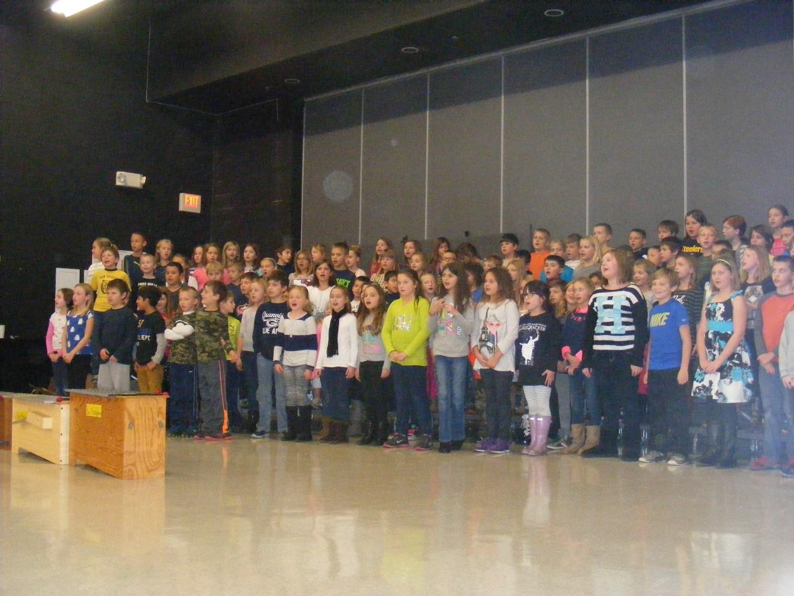 Third Grade Concert at GES