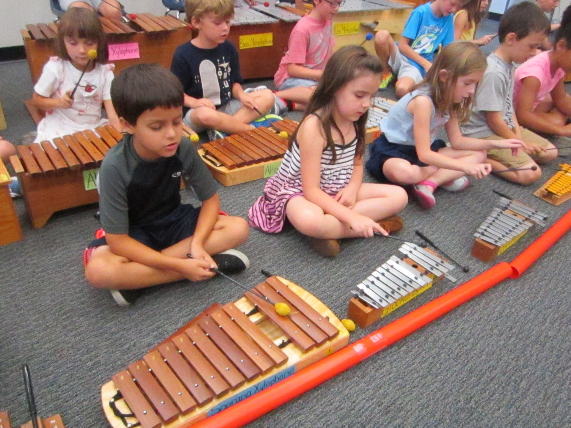 Orff Instruments at GES