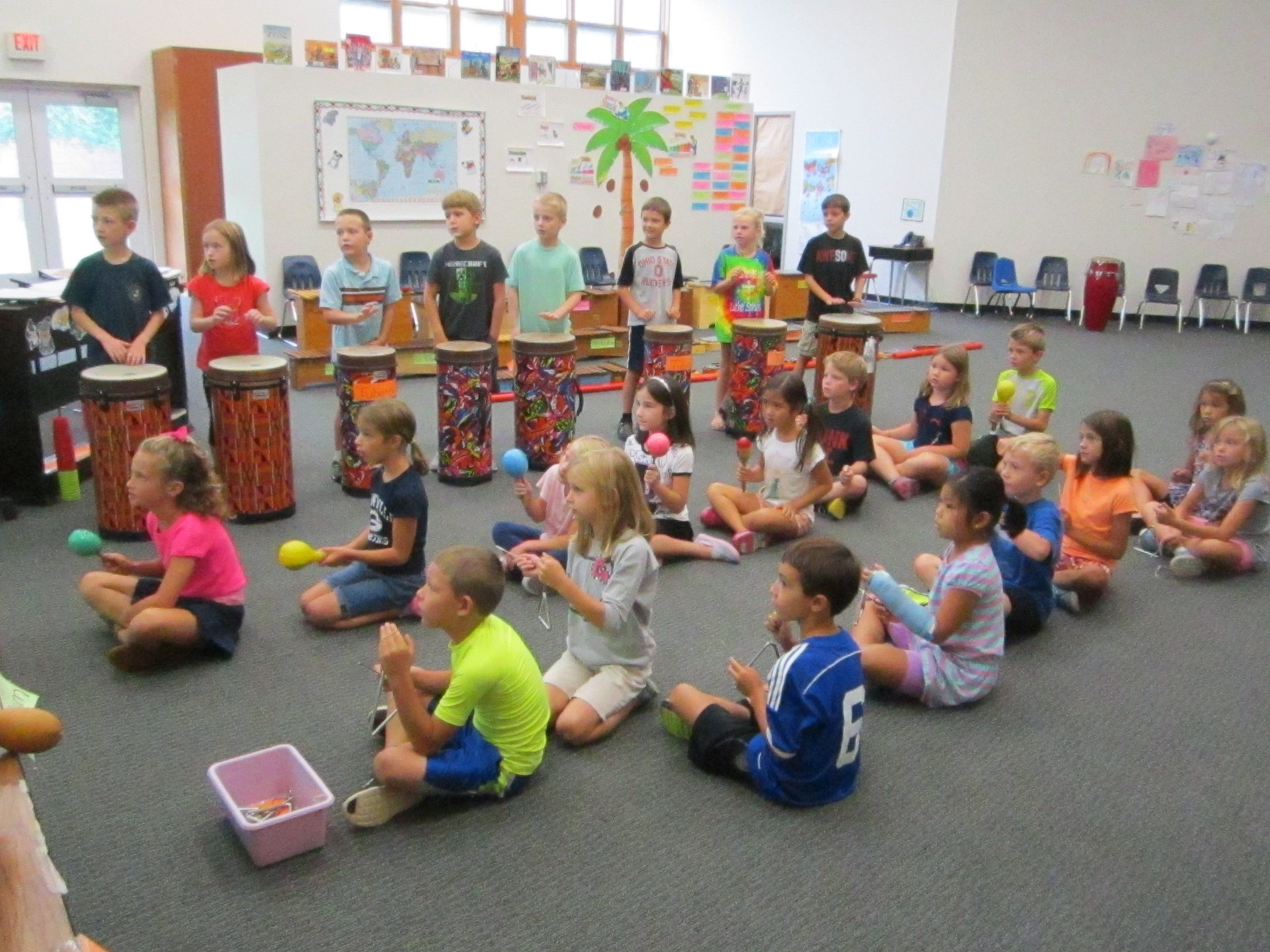 Music at GES: Learning About Percussion