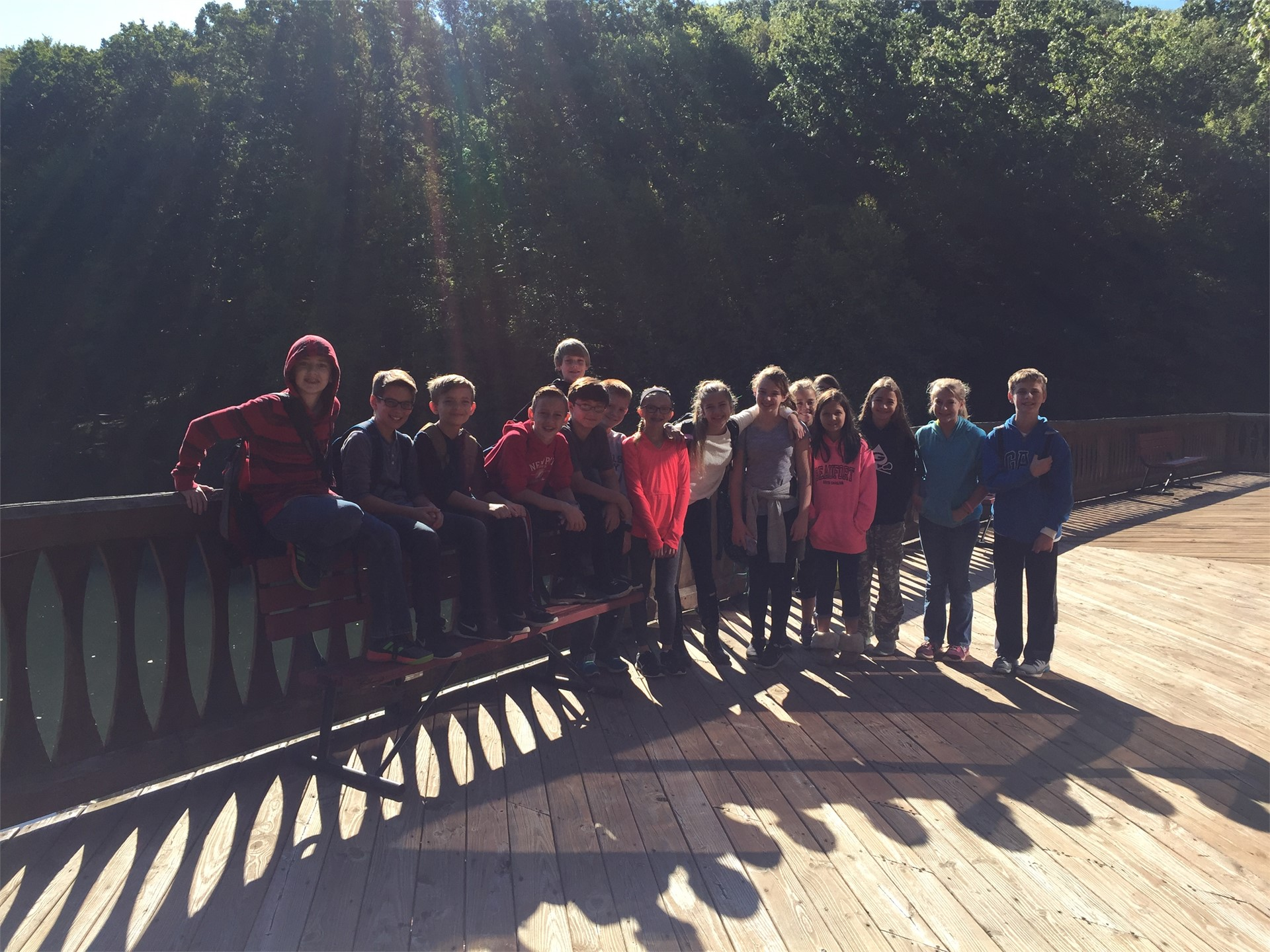 6th Grade Field Trip to Alley Park
