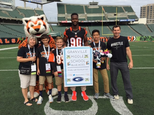 Fuel Up to Play 60 with the Bengals