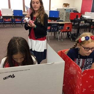 GIS Students Voting on Election Day