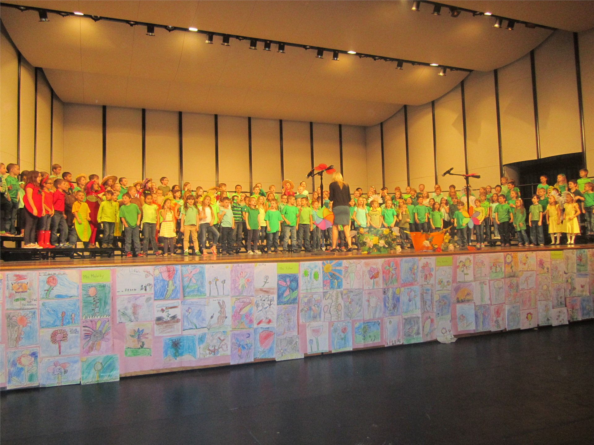 First Grade Concert at GES