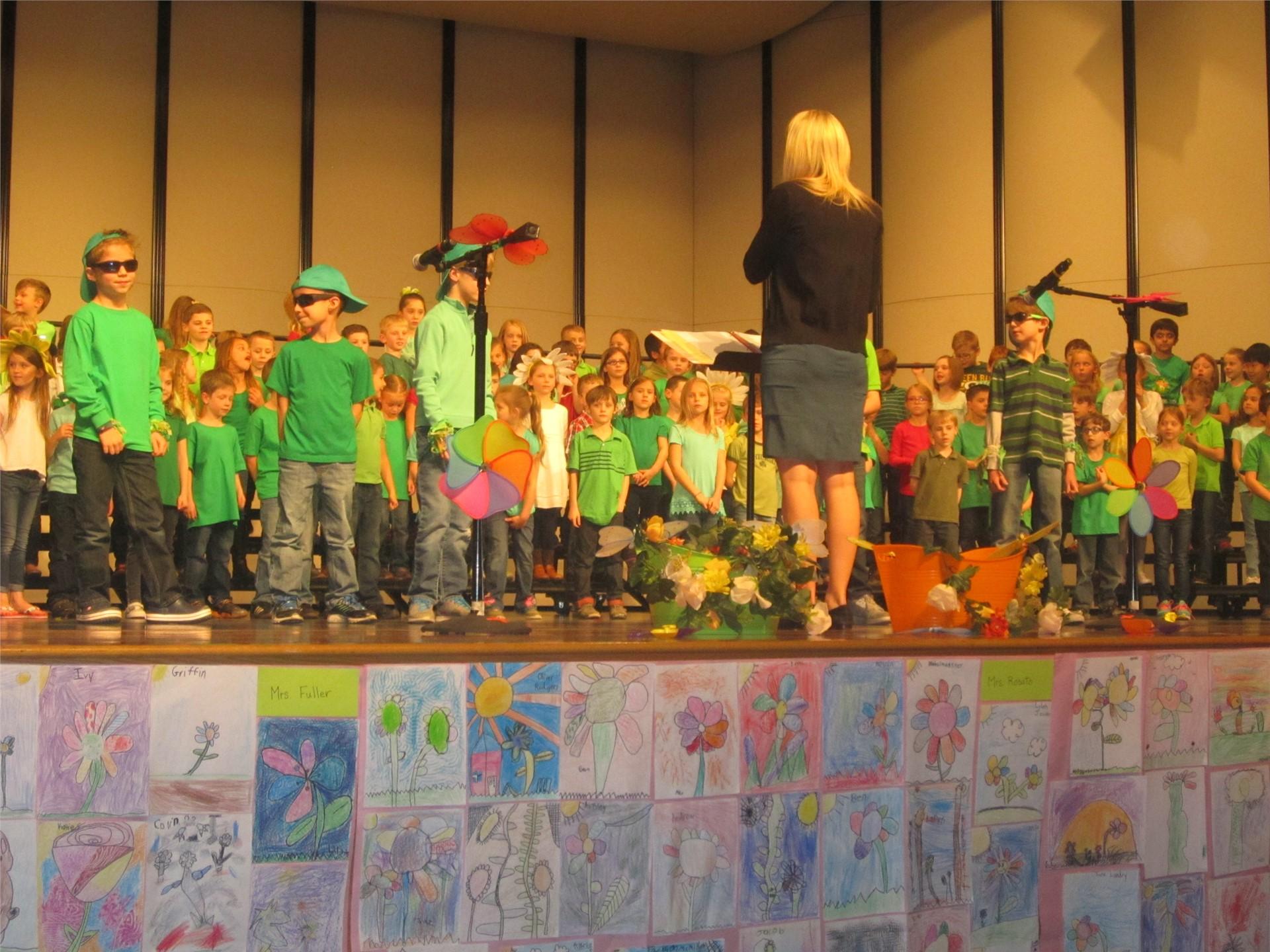 First Grade Concert 2016