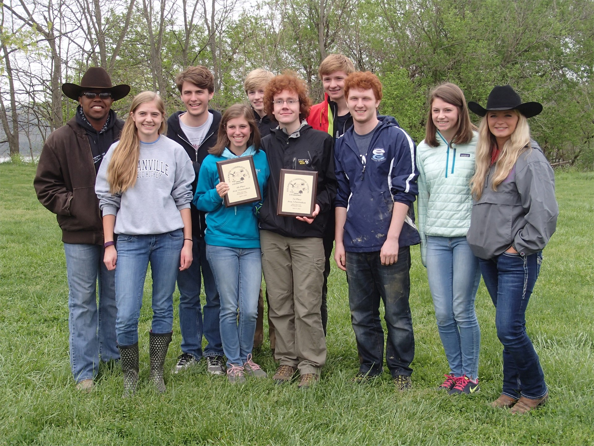 2016 Envirothon Teams