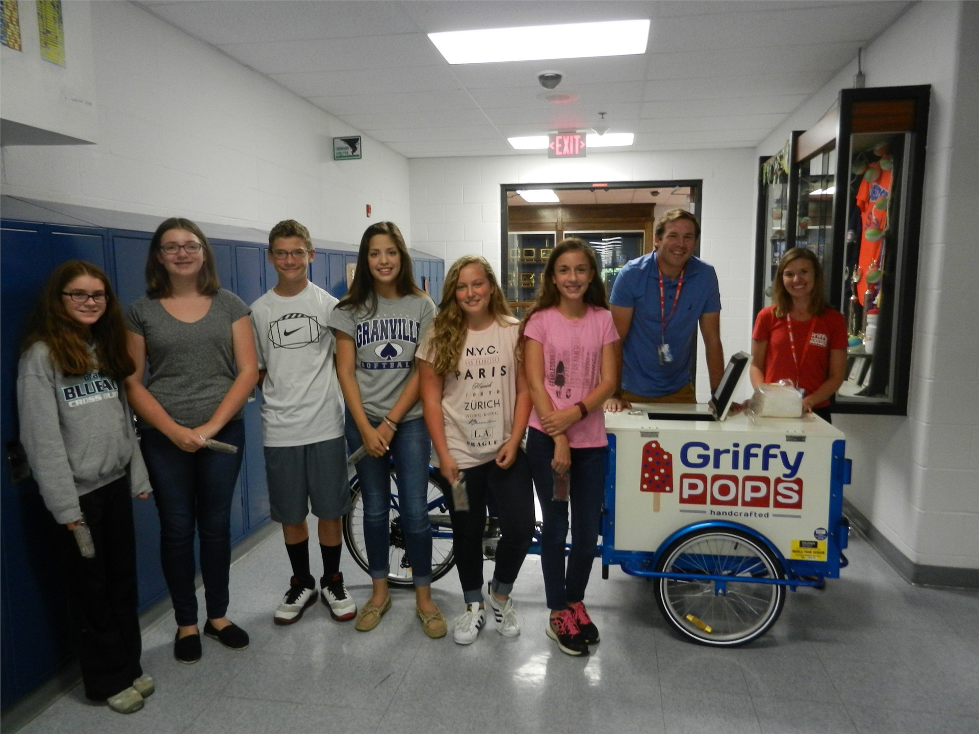 Thanks to Griffy Pops for sharing your story and your popsicles!