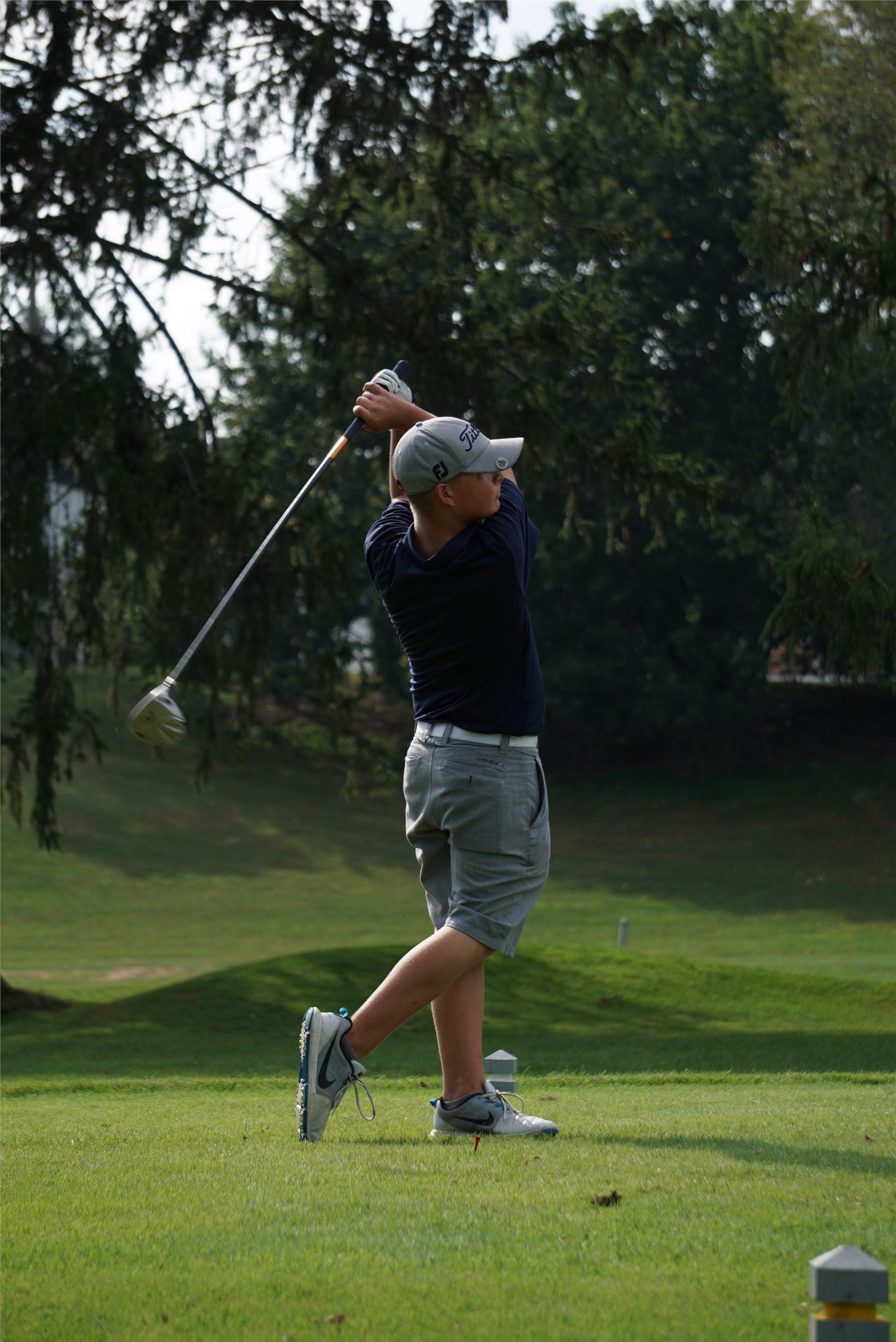 GMS Boys Golf tees off