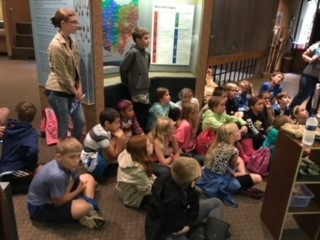 GIS 4th Grade Field Trip to Flint Ridge