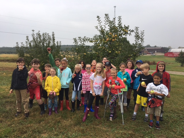 3rd Grade Project Based Learning Trip to Legend Hills Orchard