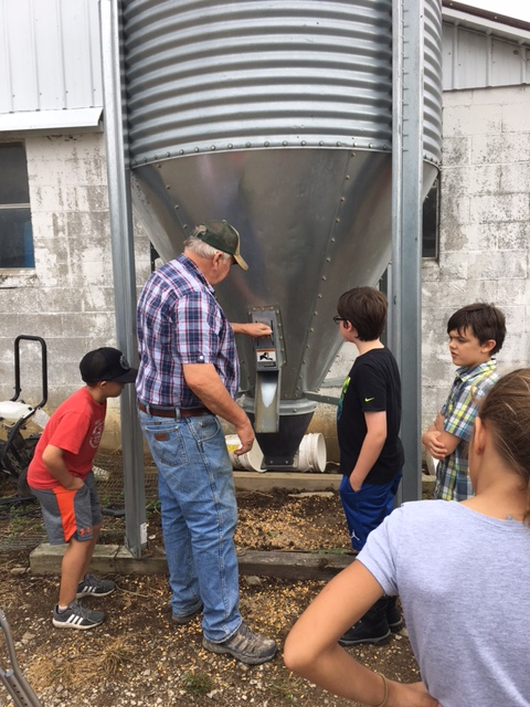 3rd Grade Project Based Learning Trip to Layman Dairy Farm