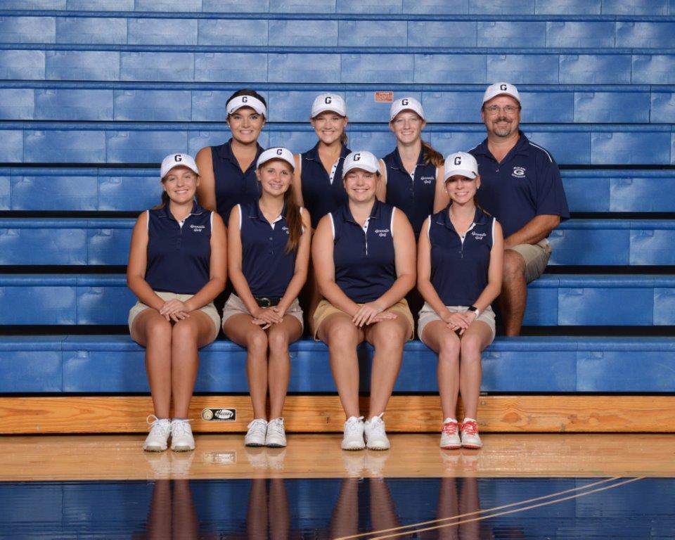 2017 Girls Golf Team