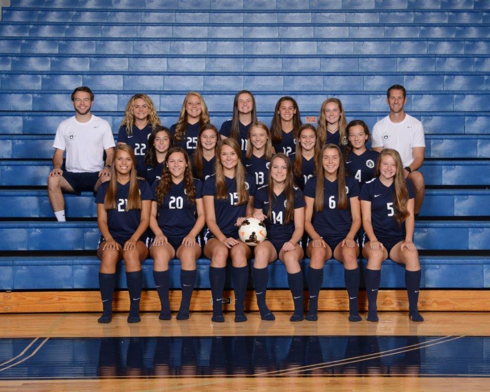 2017 Girls Varsity Soccer Team