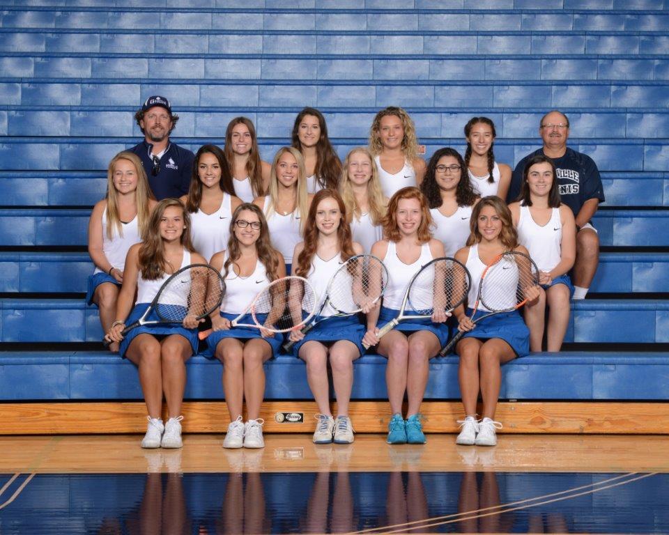 2017 Girls Tennis Team