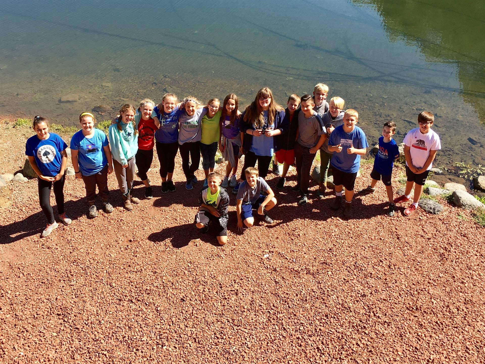 GIS 6th Grade Field Trip to Alley Park 2017