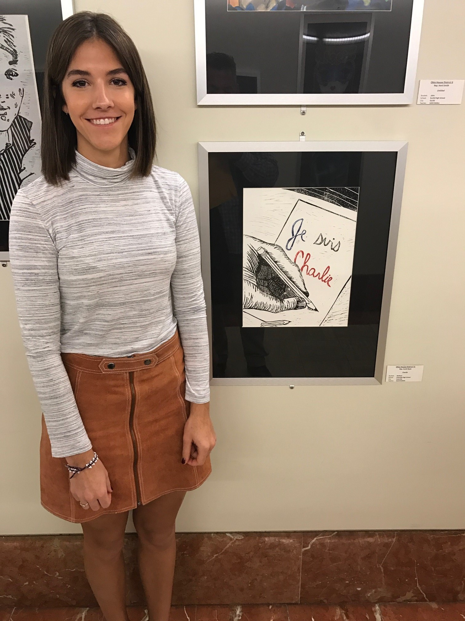 Madison Koester's Art Displayed at Ohio Statehouse