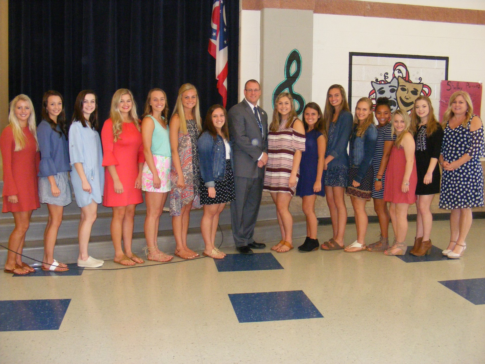 April 2017 Commendations State Cheer Team