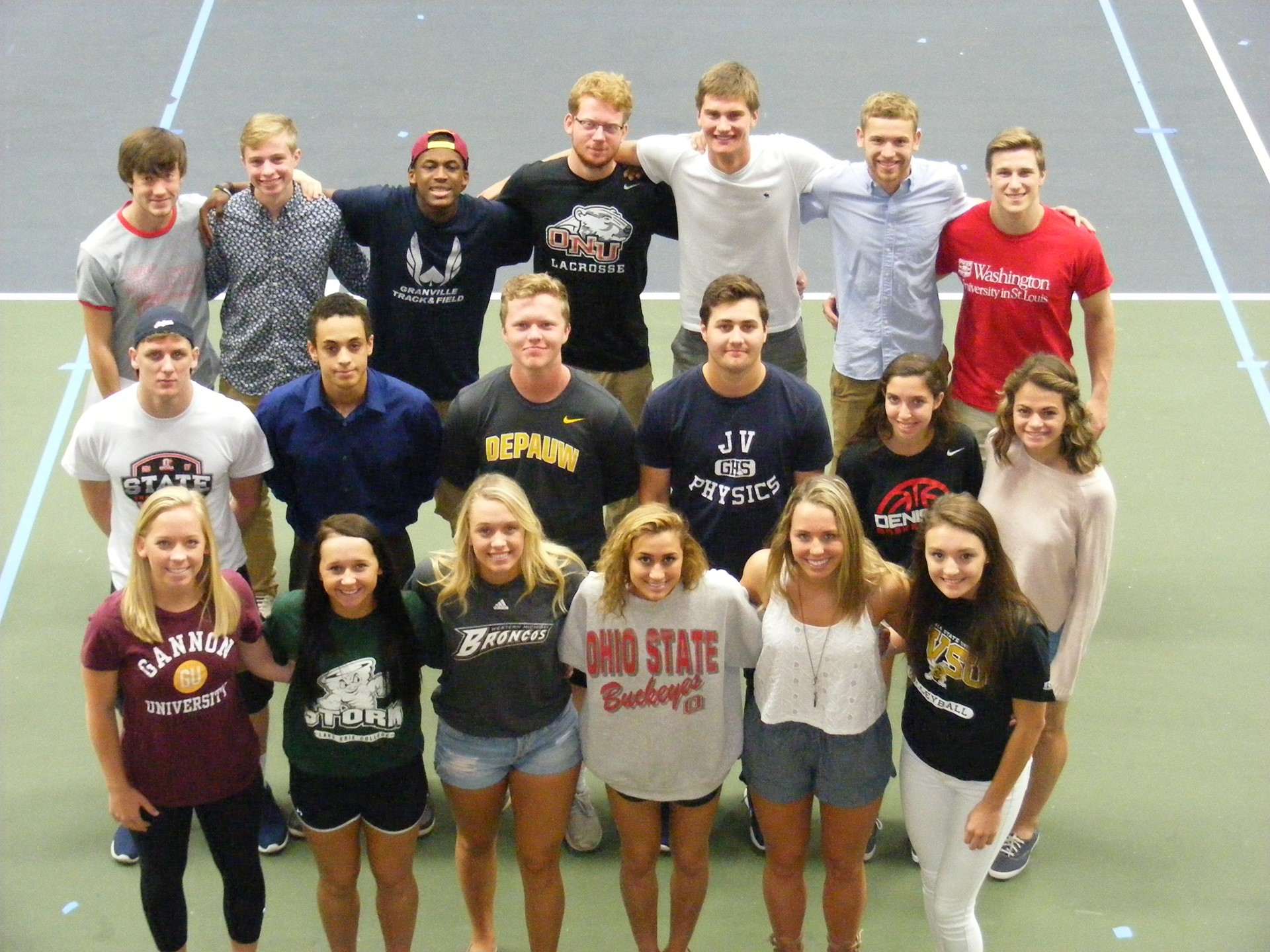 Class of 2017 Student Athletes