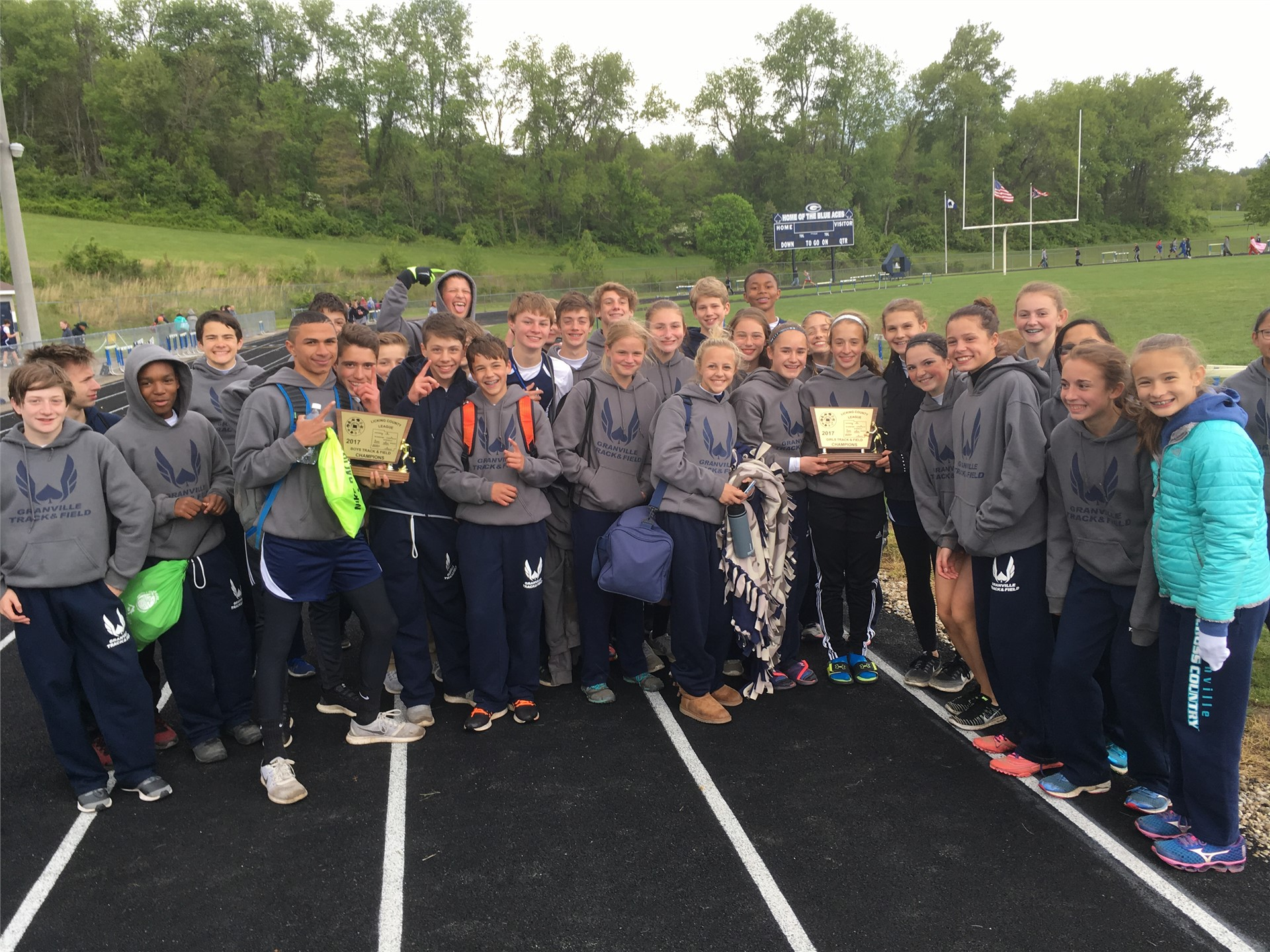 2017 LCL Track Champions