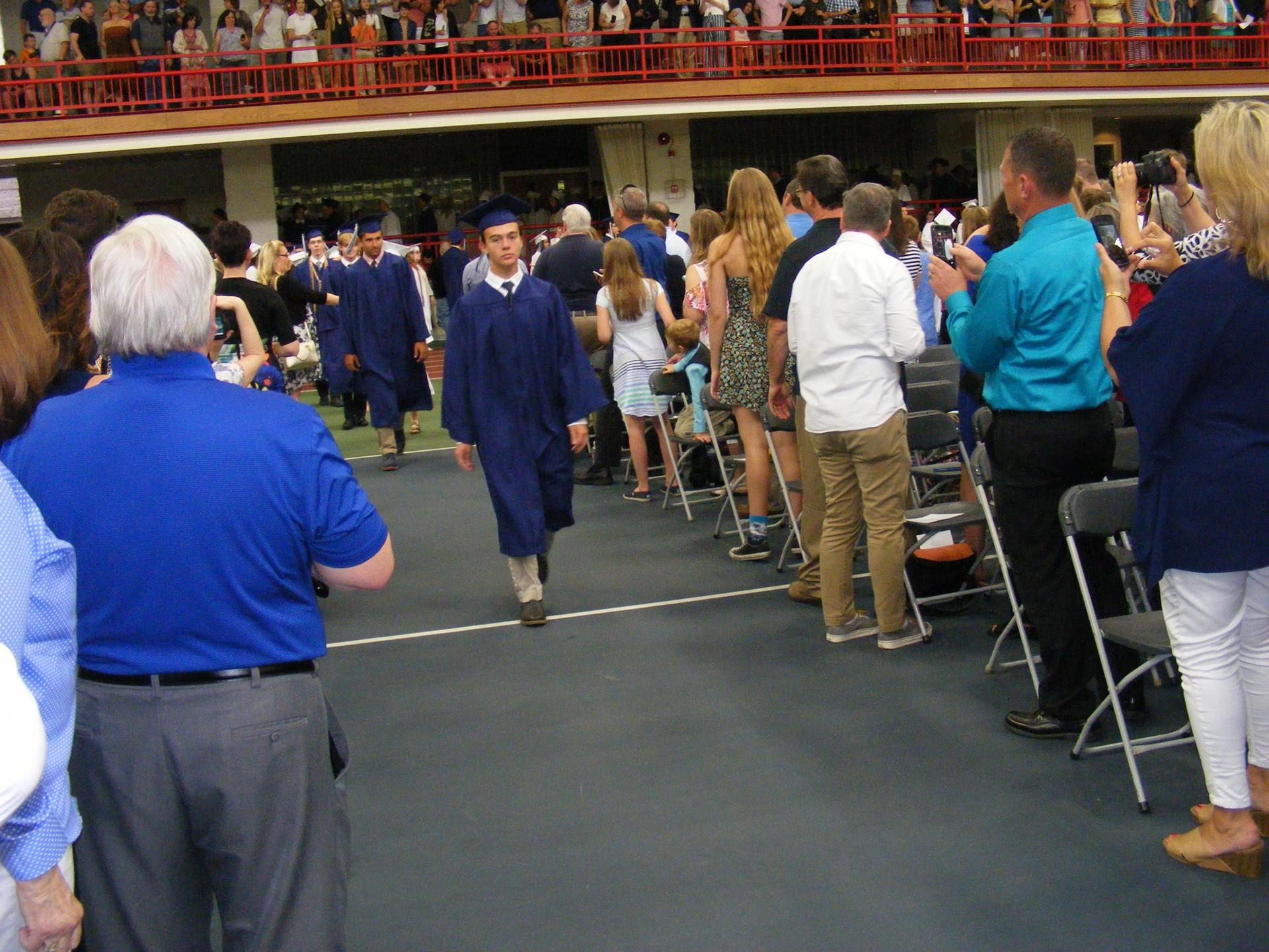 Class of 2017 Graduation - Procession