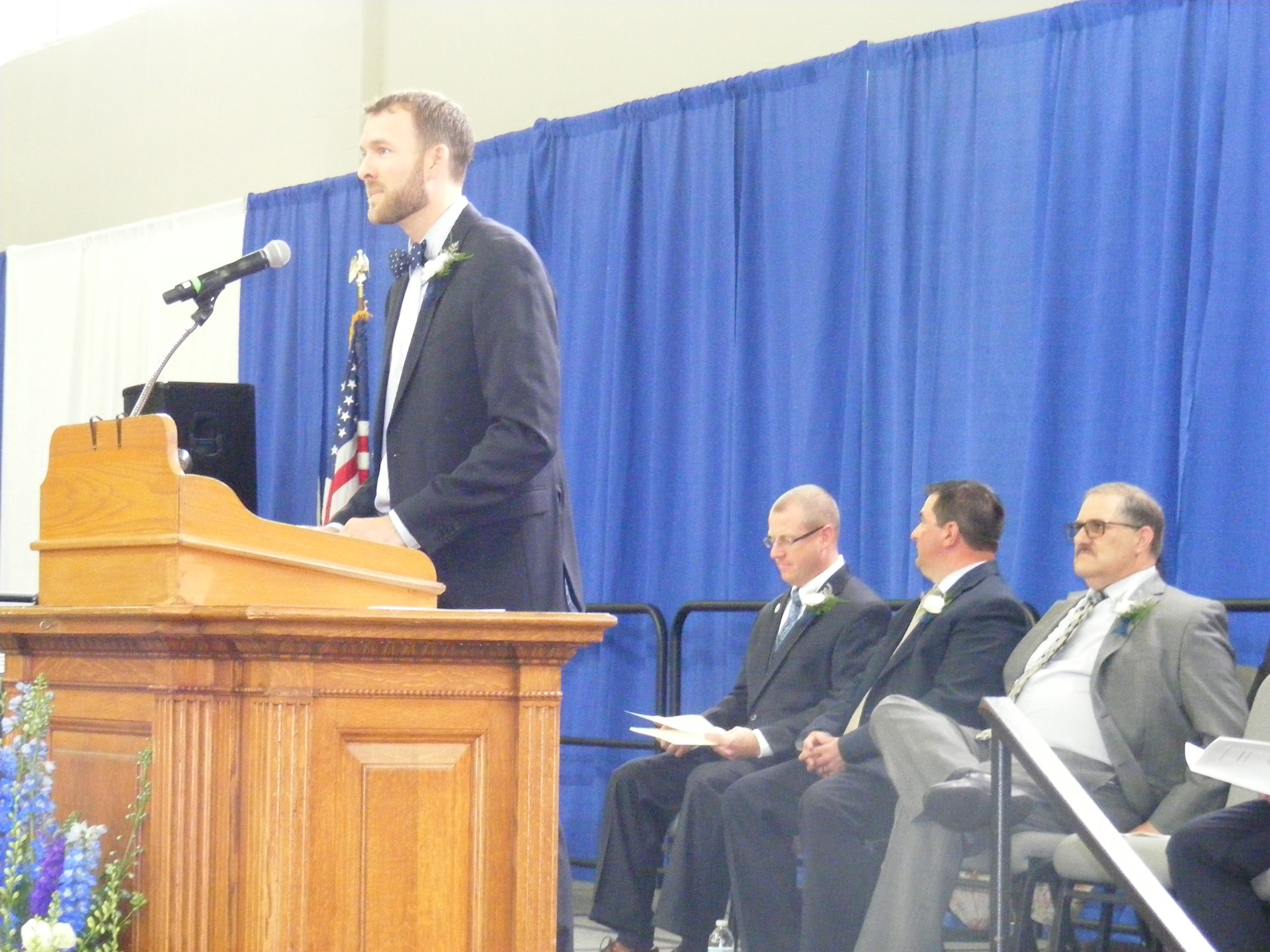 Principal Matt Durst Welcomes Guests & Grads