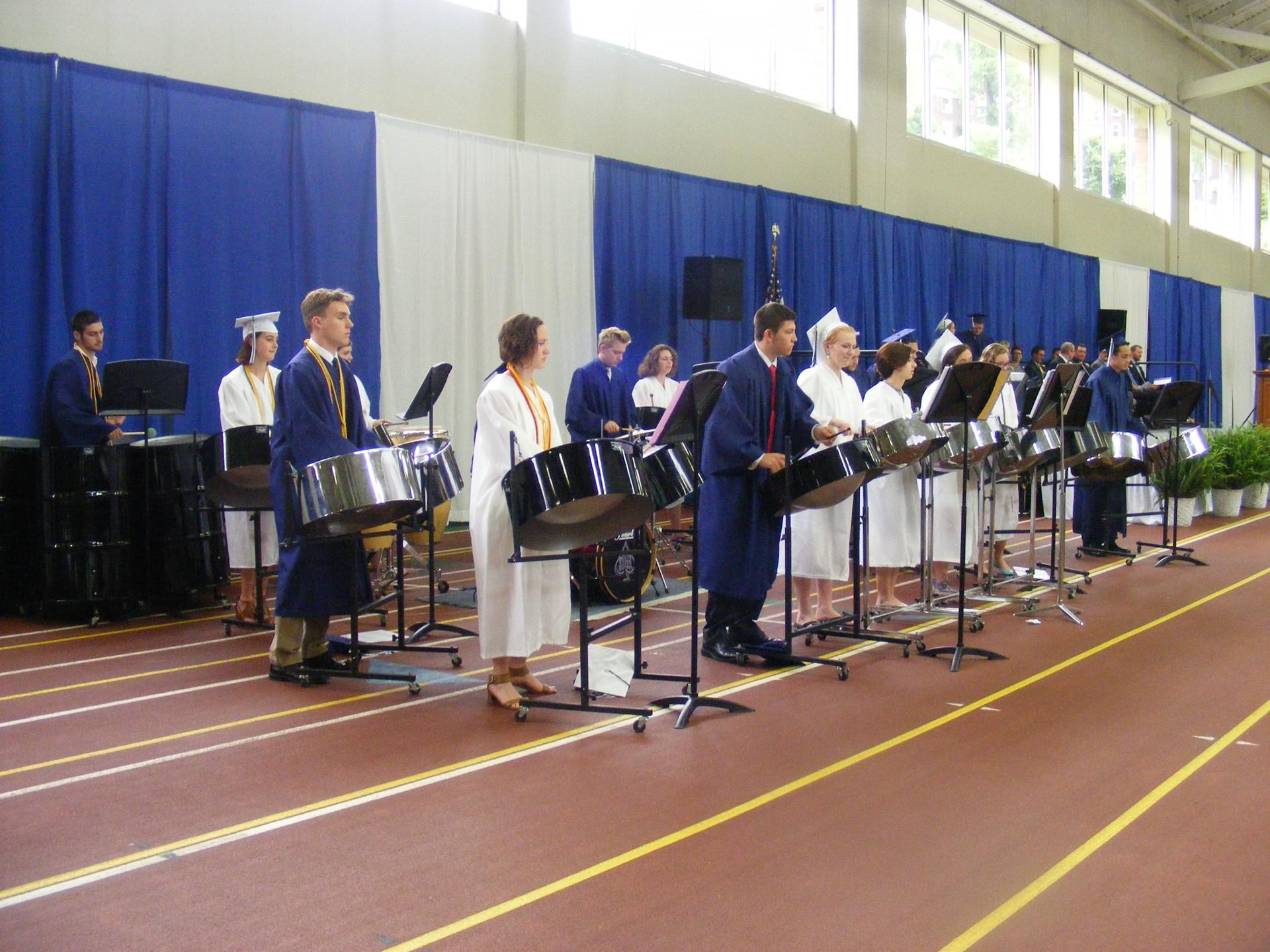Senior Blue Steel Performs