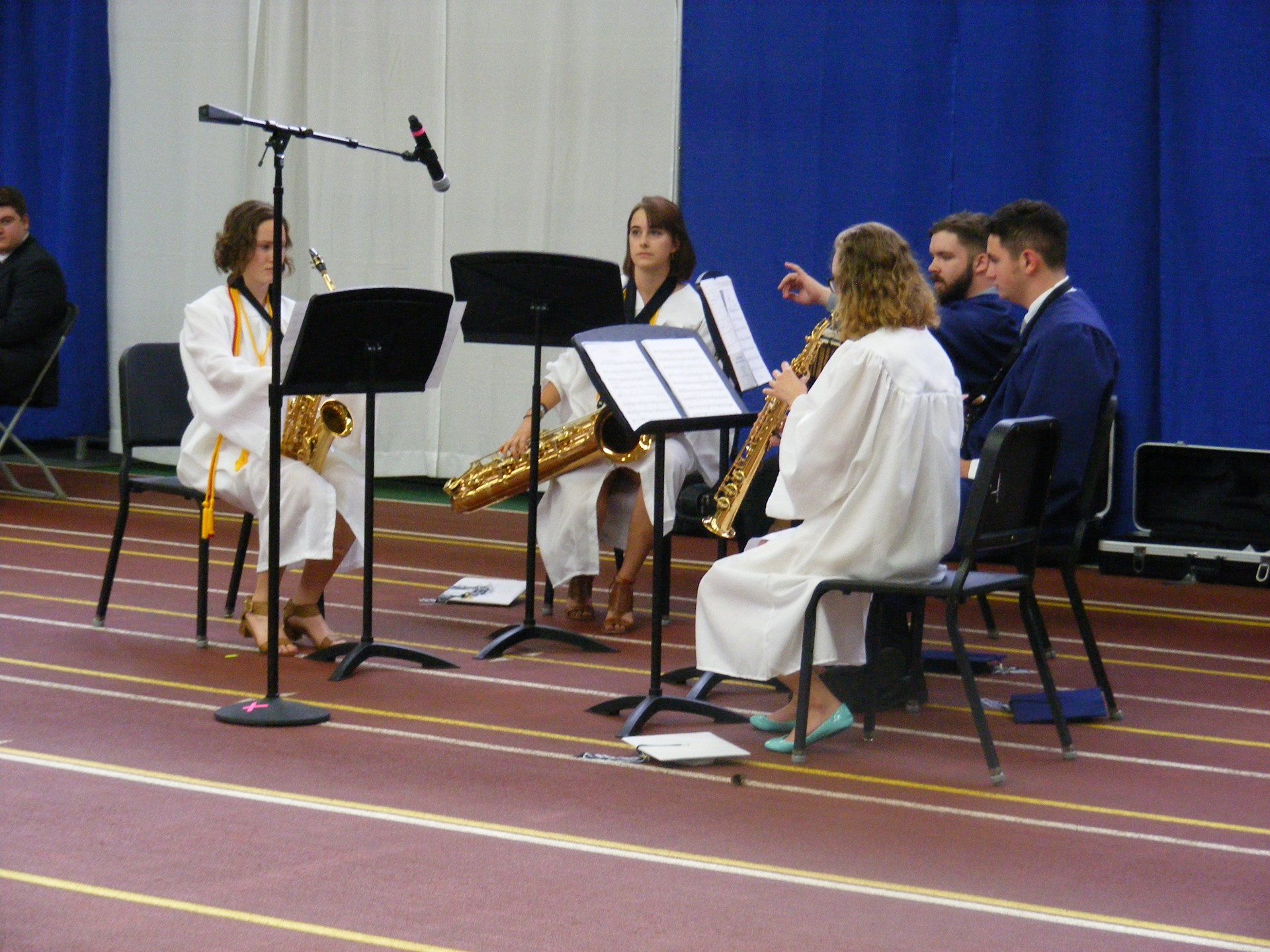 "Senior Quintet Performs ""Strange Humors"""