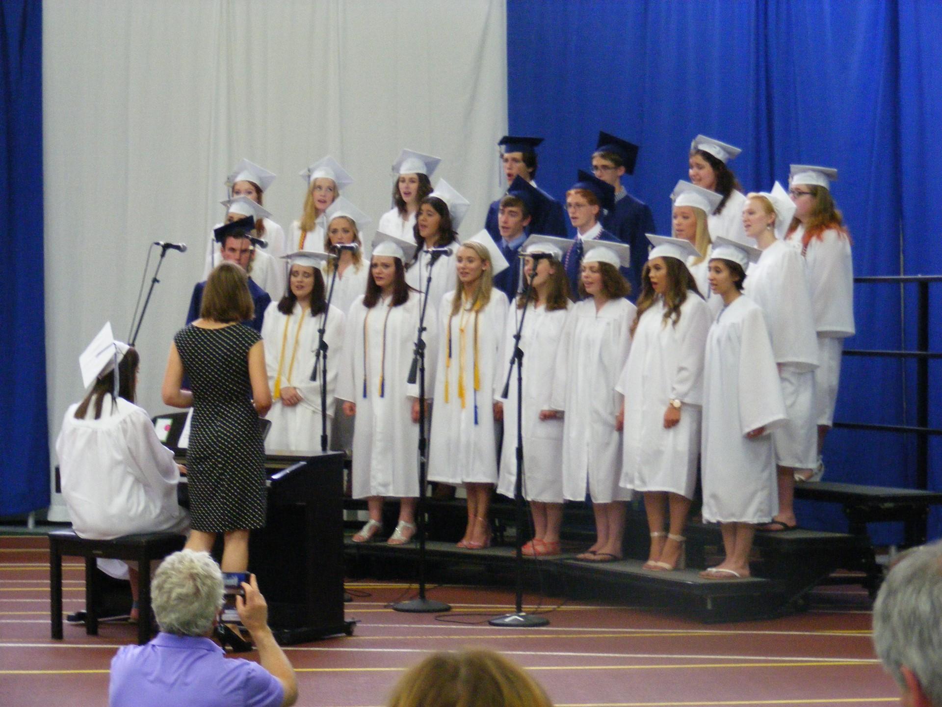 """Senior Choir Performs """"Lean on Me"""""""
