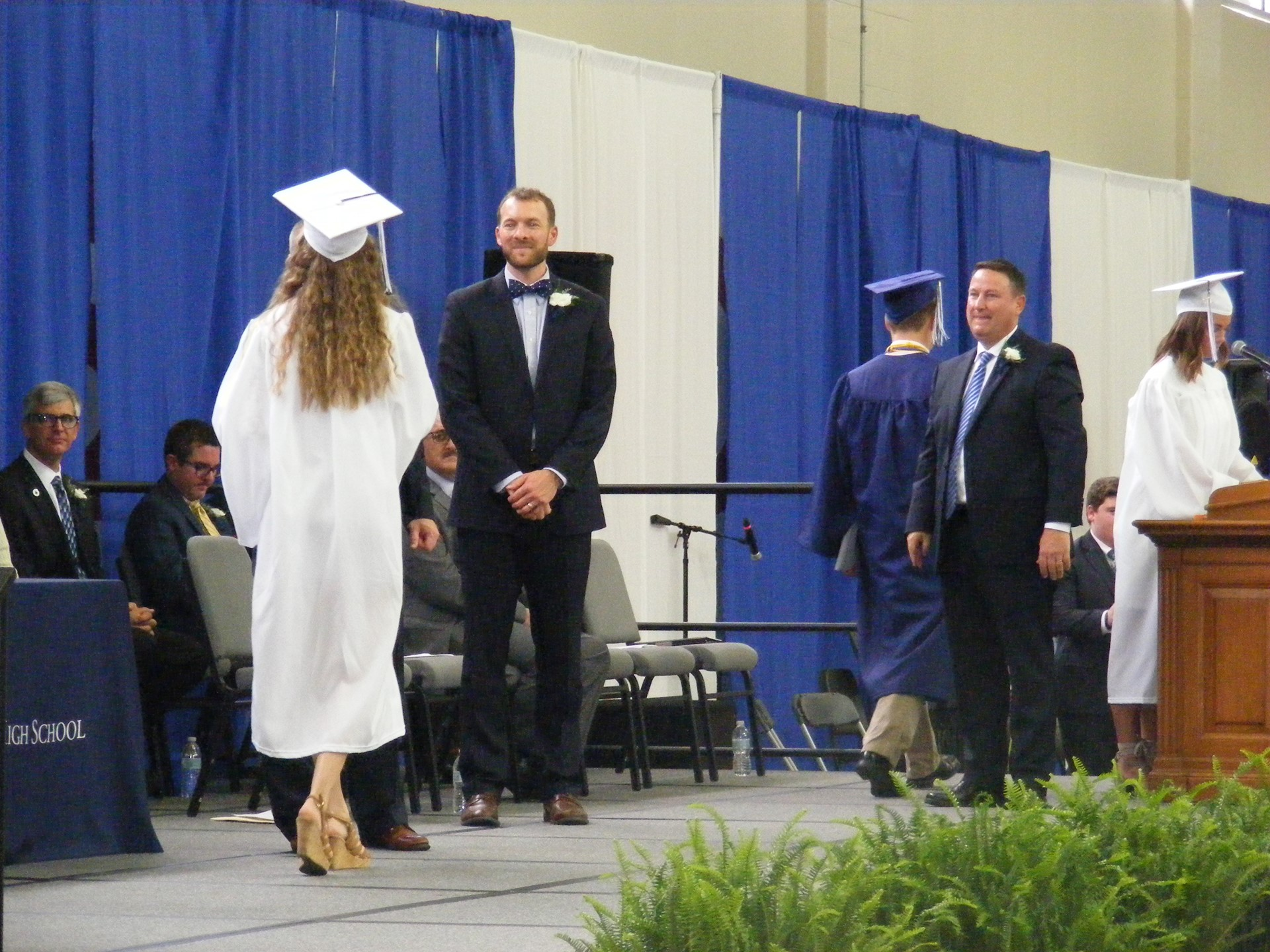 Shaking Hands with the Principals