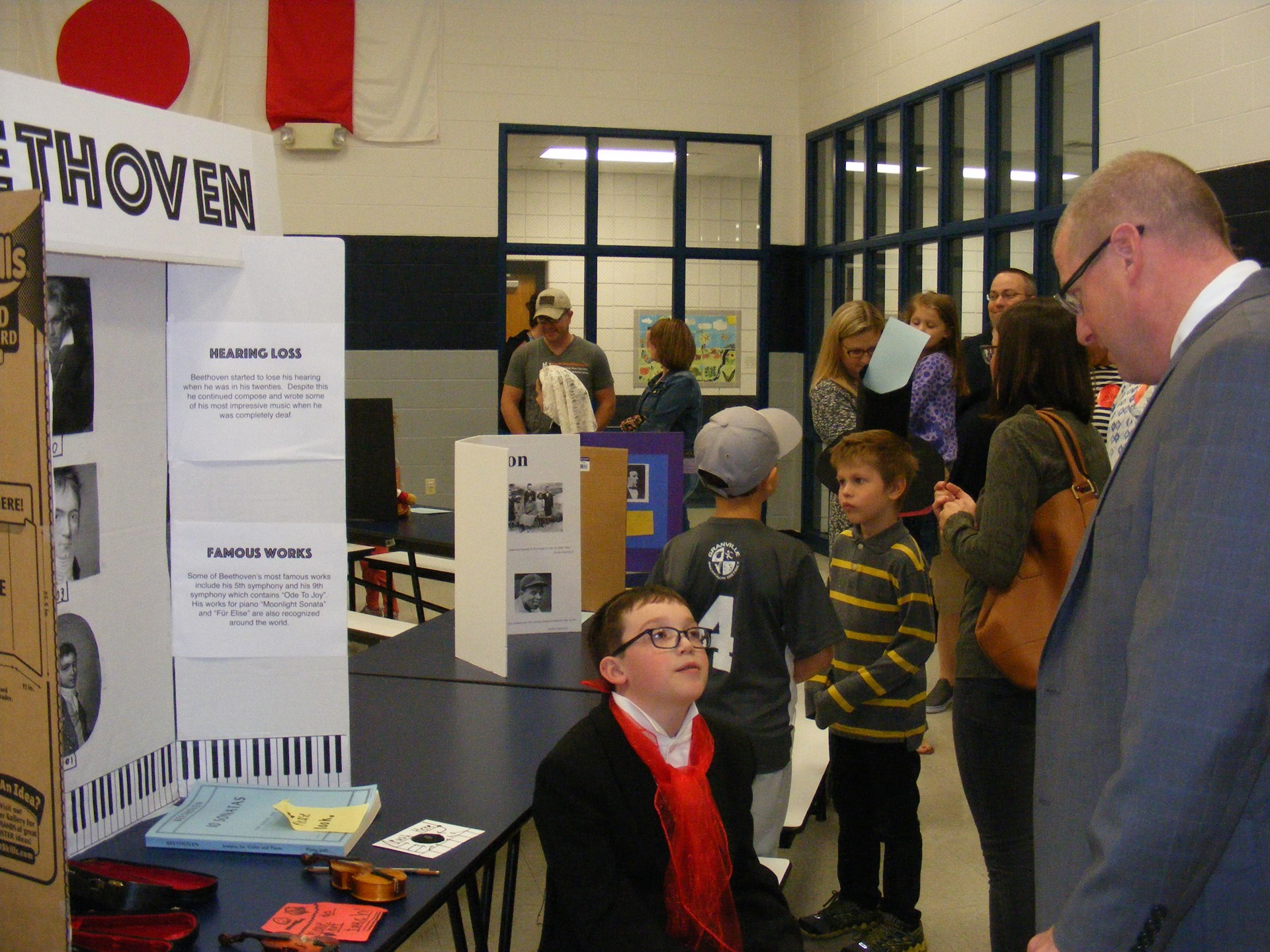 Jessica Wilson's 3rd Graders Present Way Museum at GES
