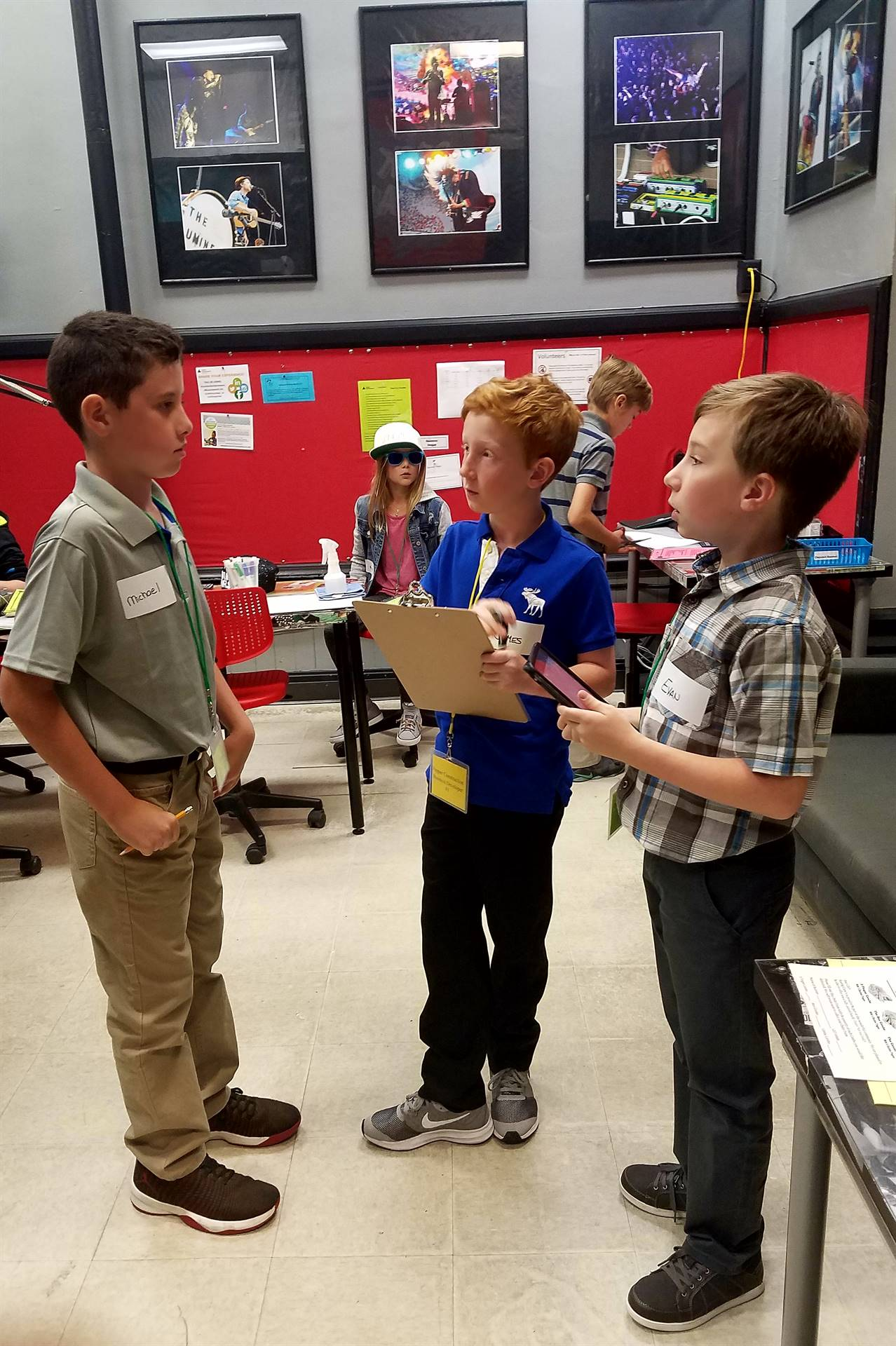 GIS 5th Graders Experience Professional Roles at BizTown
