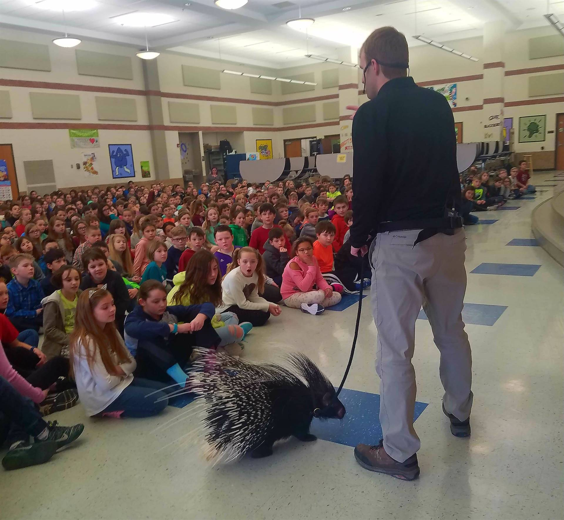 Columbus Zoo Porcupine Visits GIS for Essential Tuesday