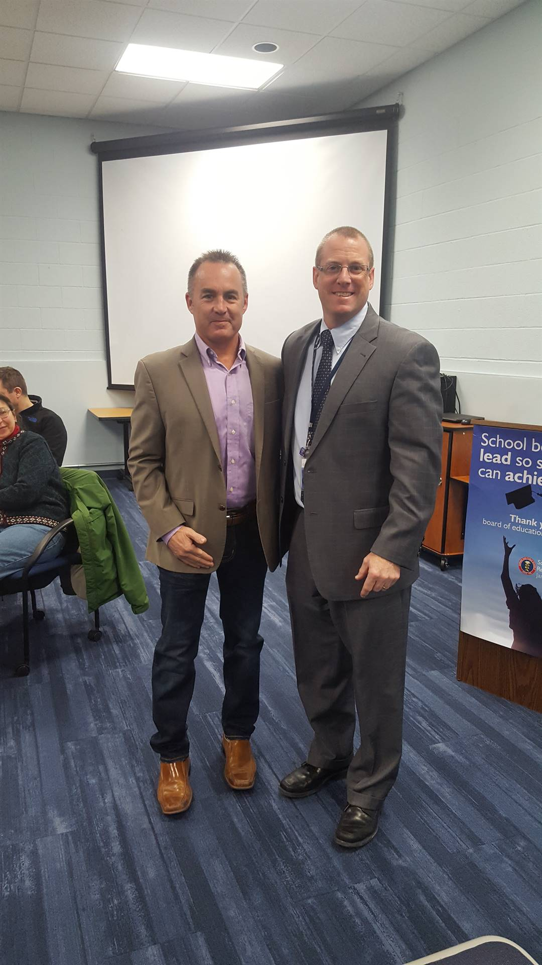 Brian Goss, Representative on GRD Board of Trustees