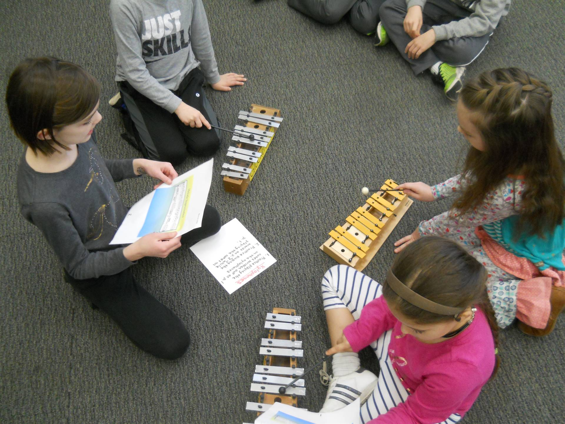 GES 2nd-graders Performing in Music Class