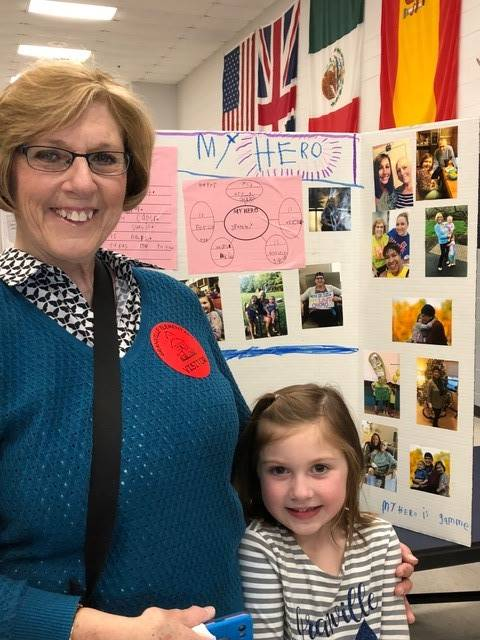 Kindergarten Heroes PBL Project at GES