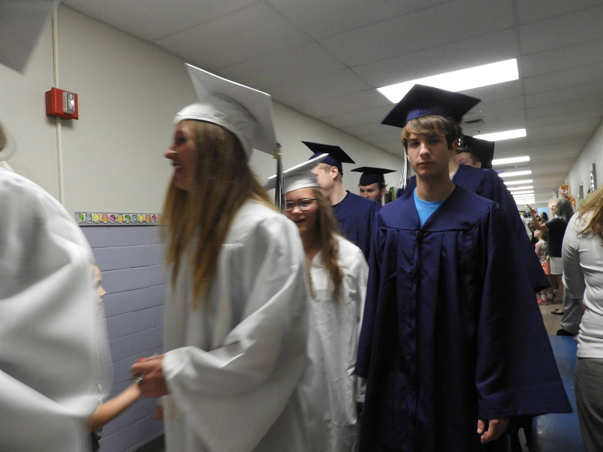 GHS Class of 2018 Graduate March at GES