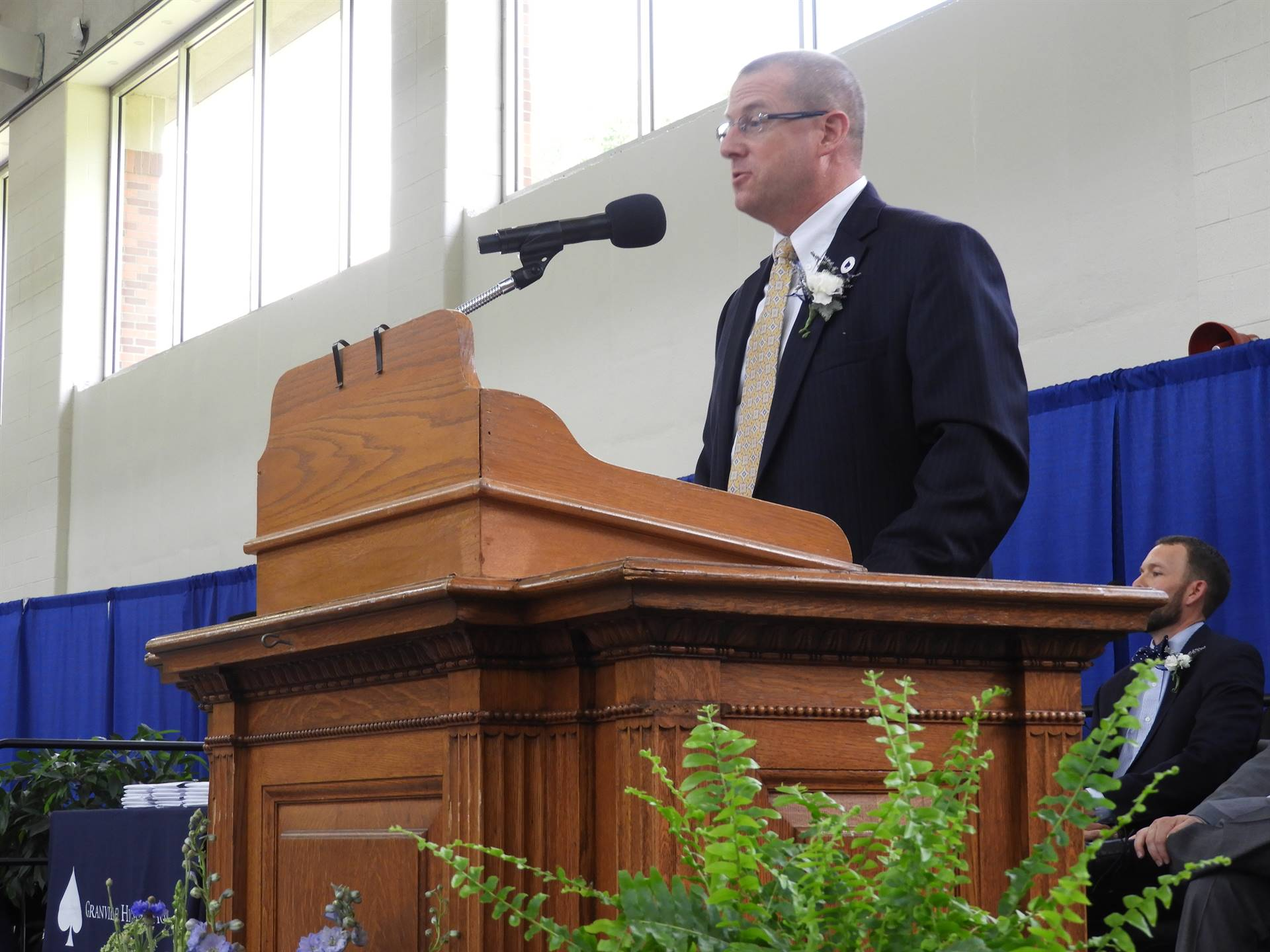 Class of 2018 - Superintendent Jeff Brown Introduces Speakers
