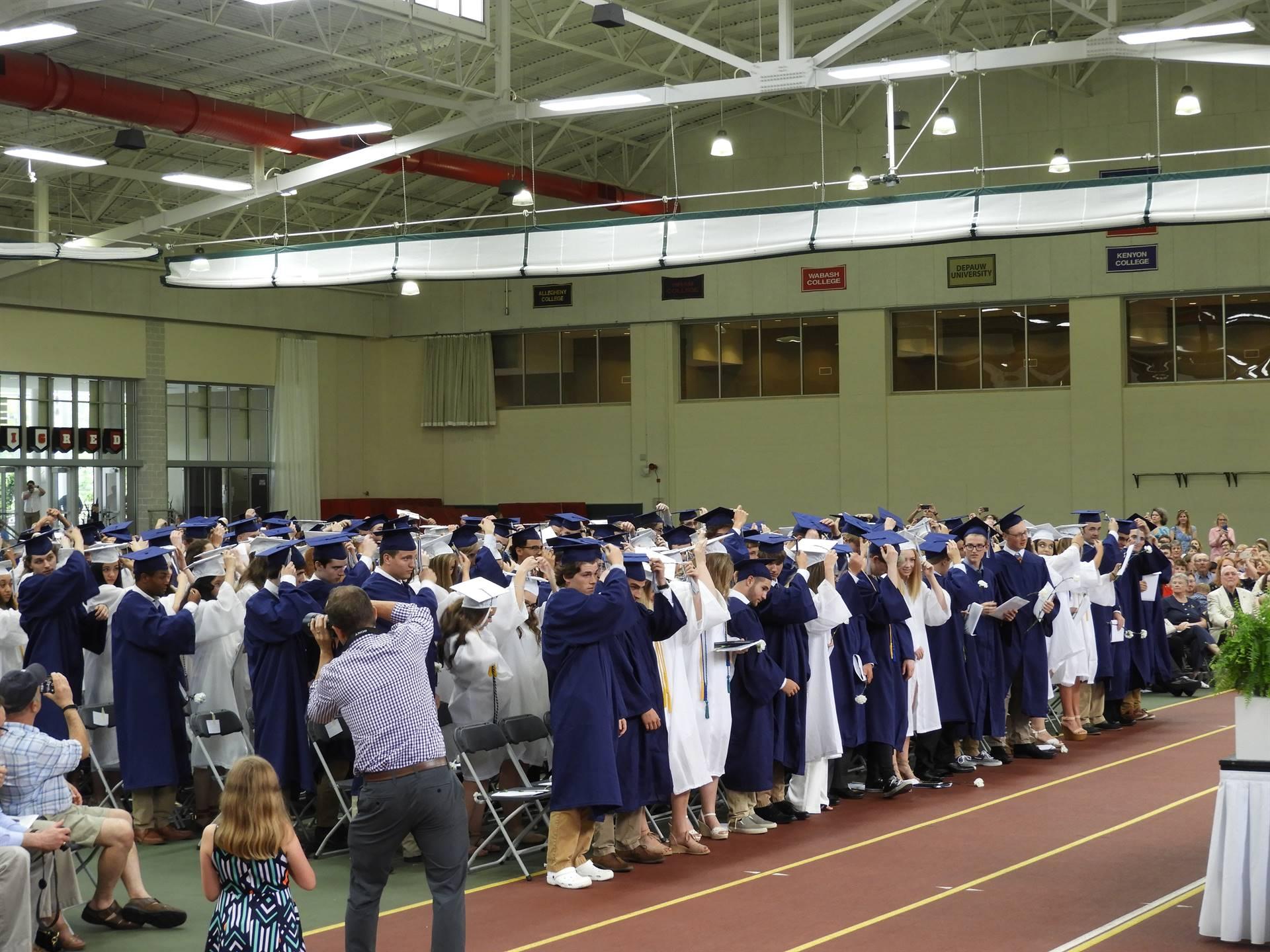 Class of 2018 - Graduates Move Tassels