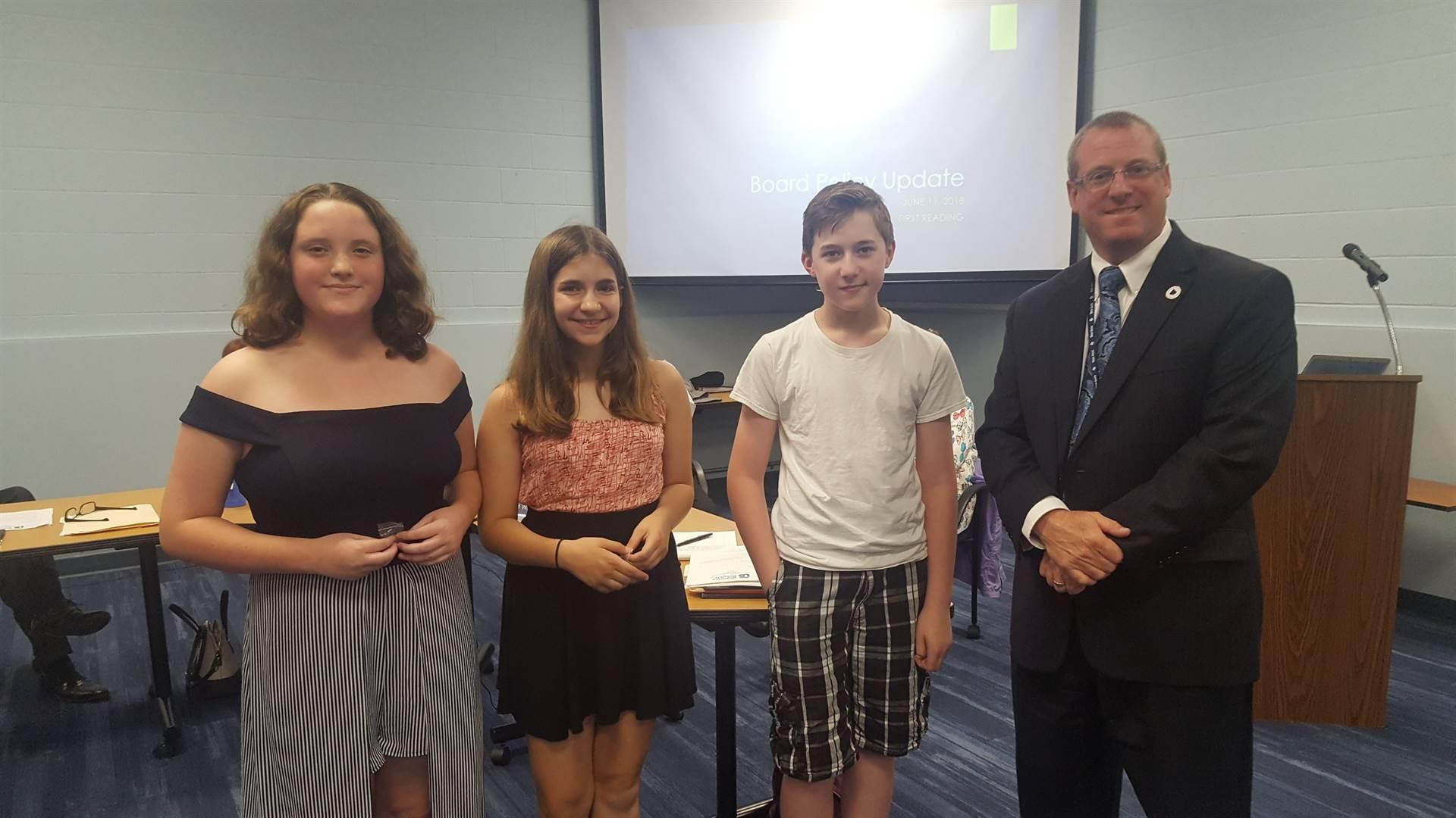 GMS Fairchild Challenge Winners