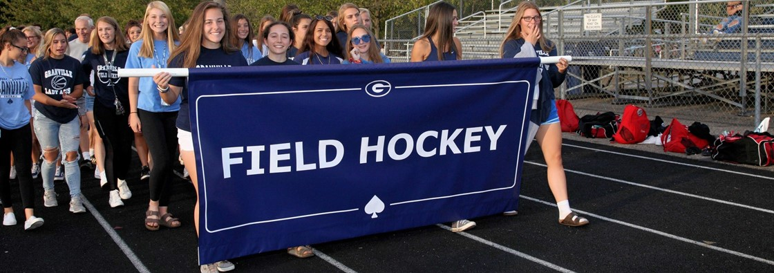 Field Hockey Team in Parade
