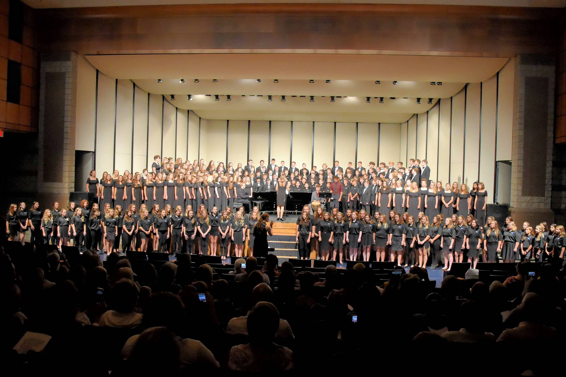 Combined Choirs from GMS and GHS