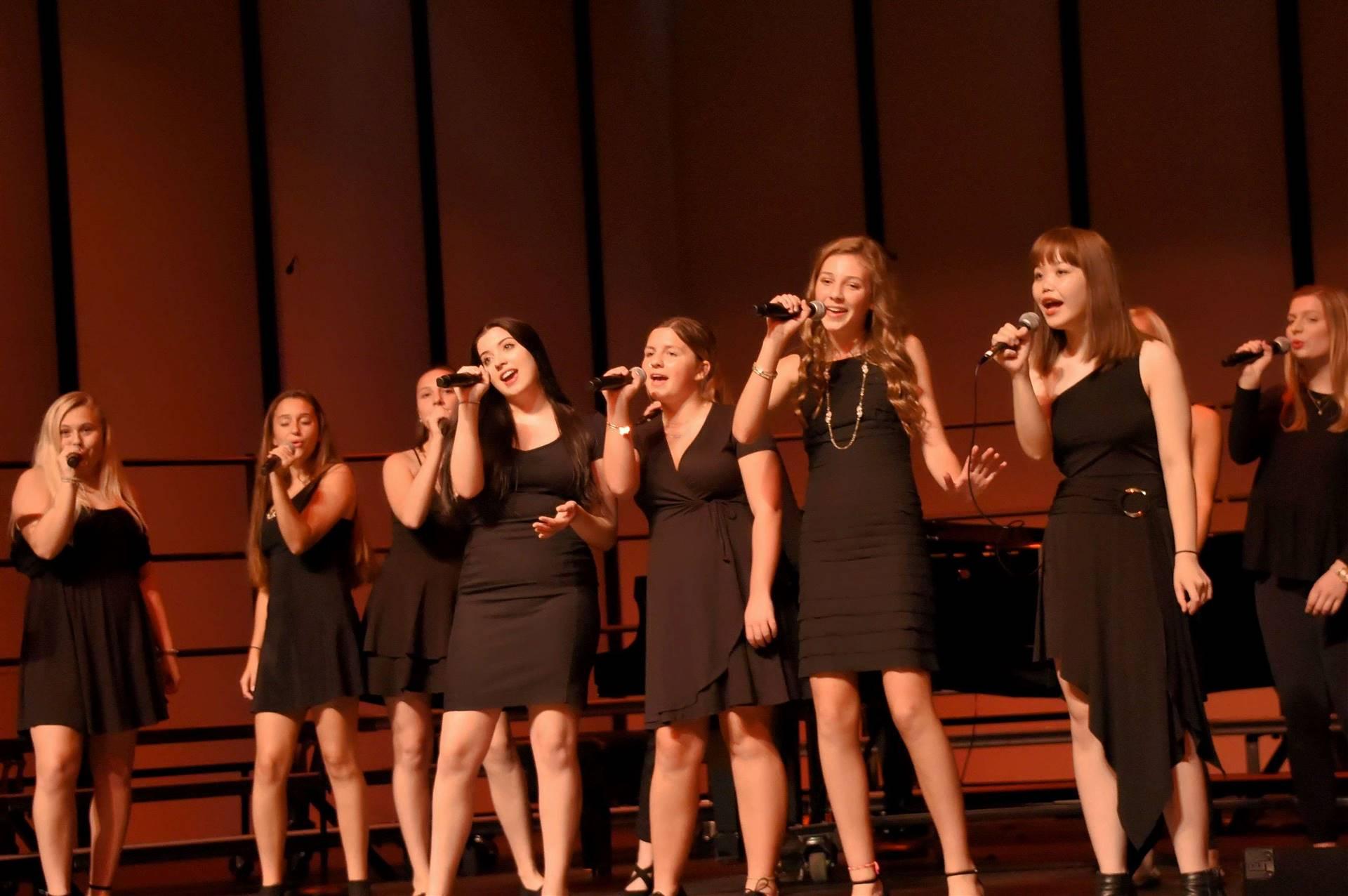 GHS Girls Choir performing