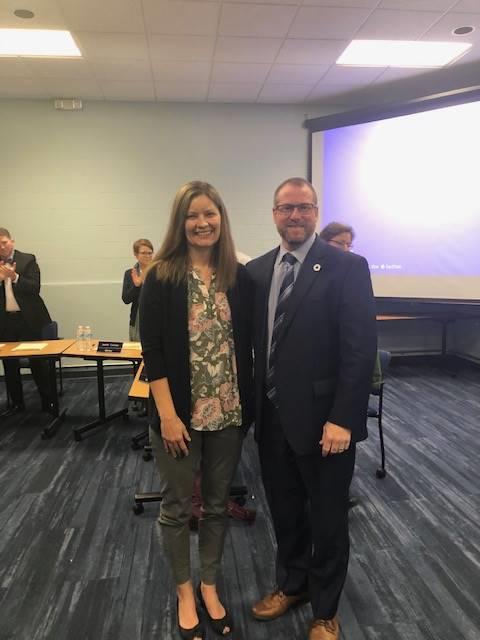 November 2019 Jennifer McCollister Leaders for Learning Award