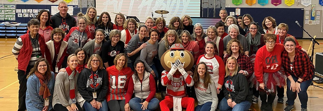 Brutus and the Granville Intermediate Staff