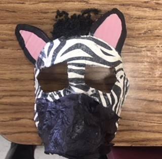 Sixth Grade Mask Project