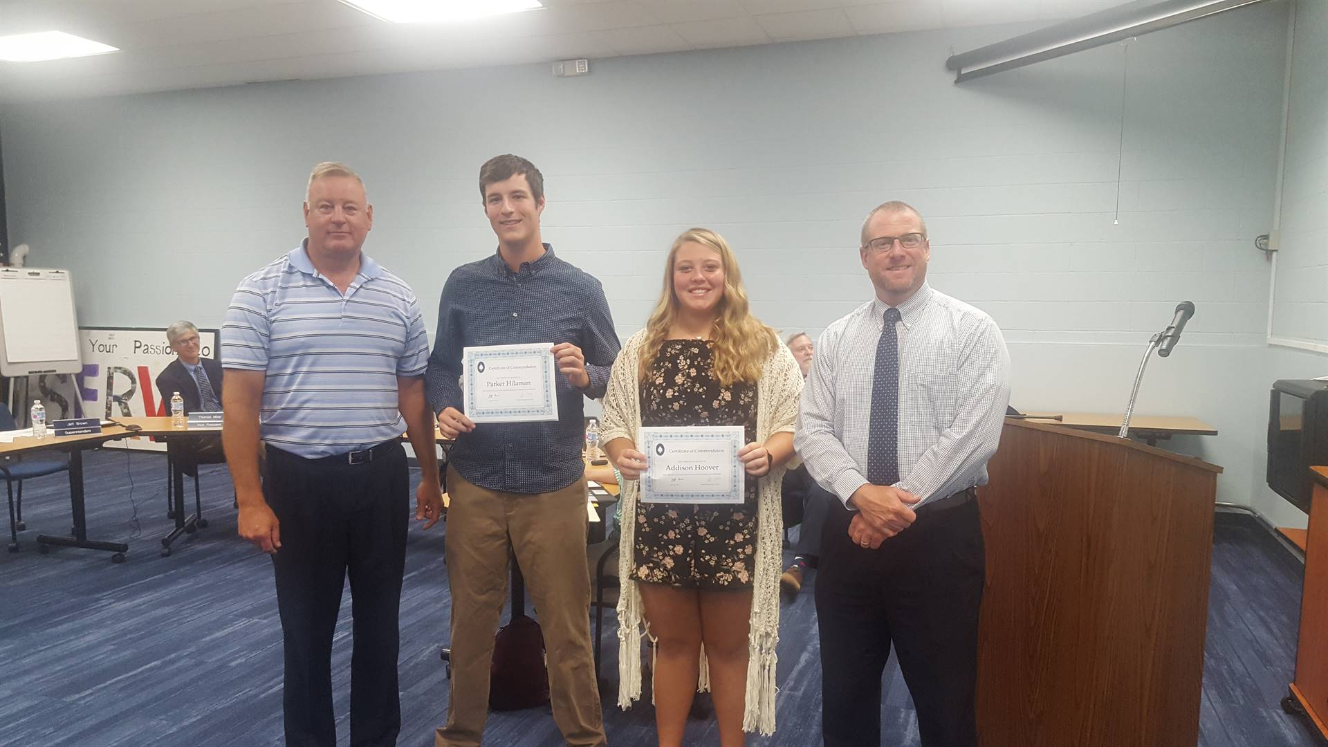 July 2019 Hammer Throw Commendations
