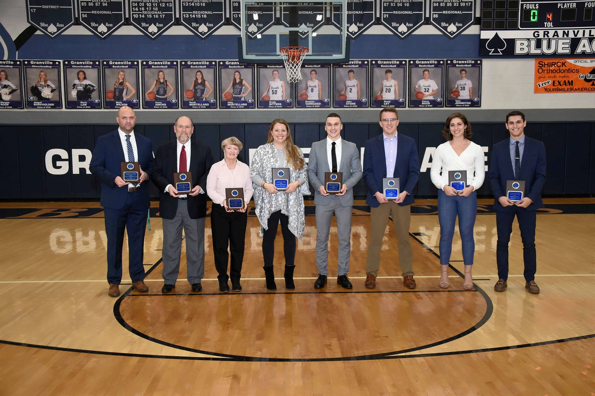 2018-2019 Hall of Fame Recipients