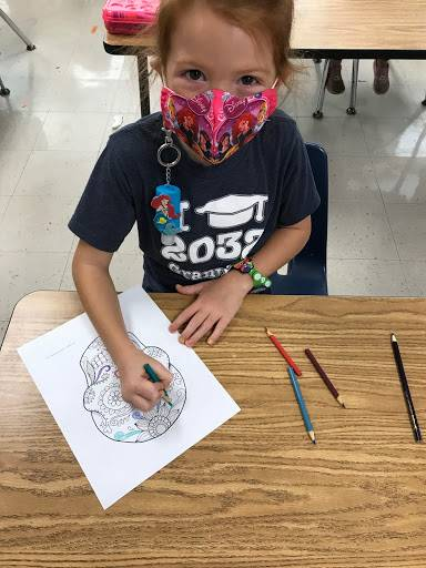 GES students  learn about Day of the Dead