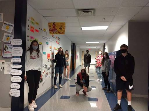 Spanish II period 7 in-person learners